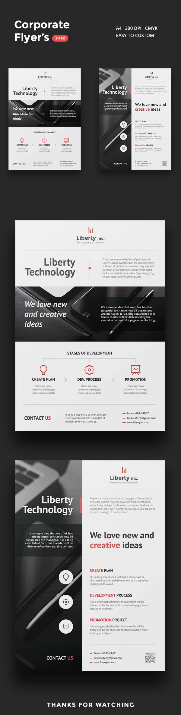 Corporate Flyers on Behance