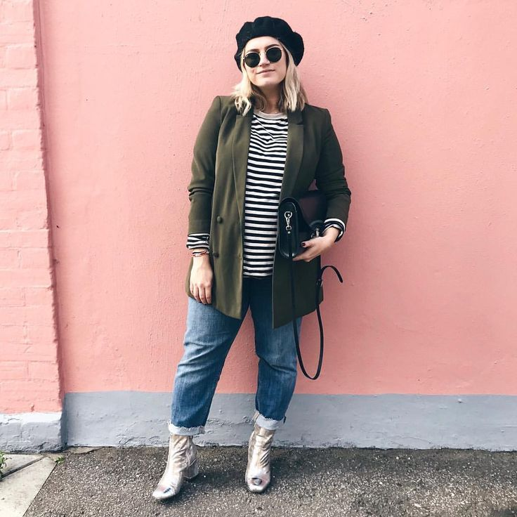 "1,639 Likes, 28 Comments - Hannah Gale (@hannahfgale) on Instagram: ""And we shall christen today the first beret wear of the season day 👩🏼‍🎨 (blazer @Primark, jeans…"""