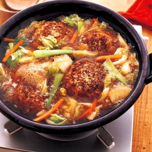 中華風でか肉だんご鍋