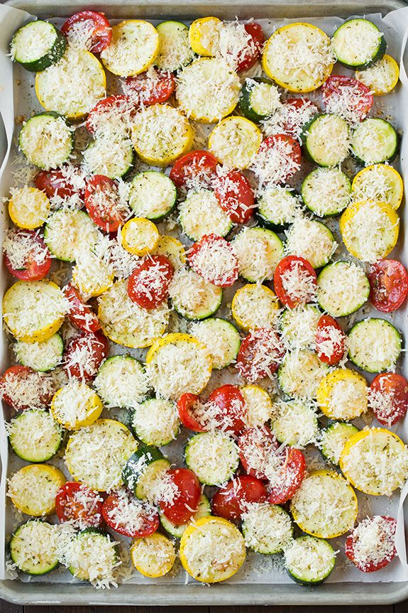 and   north Tomatoes spring Recipe Squashes  face Roasted Zucchini Squash   Tomatoes jackets Zucchini  Garlic Parmesan and