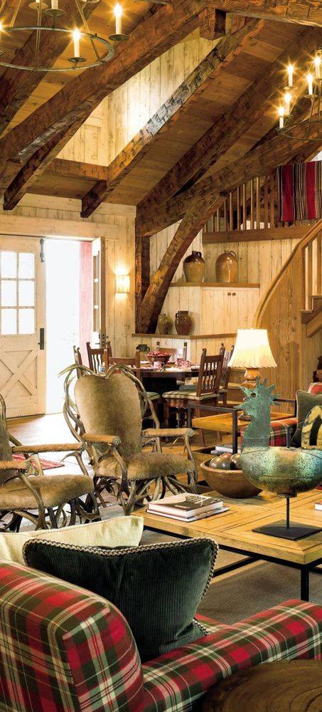 Best Montana Style Refined Rustic Images On Pinterest Log