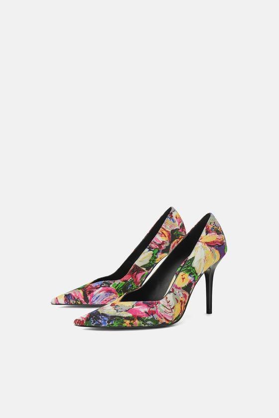 Mujer ZapatosZara Estampado En 2019Wardrobe Tacón Zapato qSAc3RL4j5