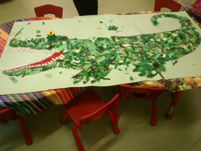 The Enormous Crocodile- celebrating Roald Dhal day with reception class
