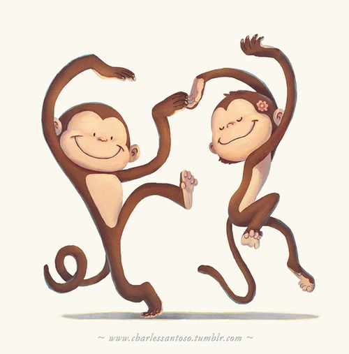 Here's some happy monkeys for you :) Ook! Ook! | Charles Santoso