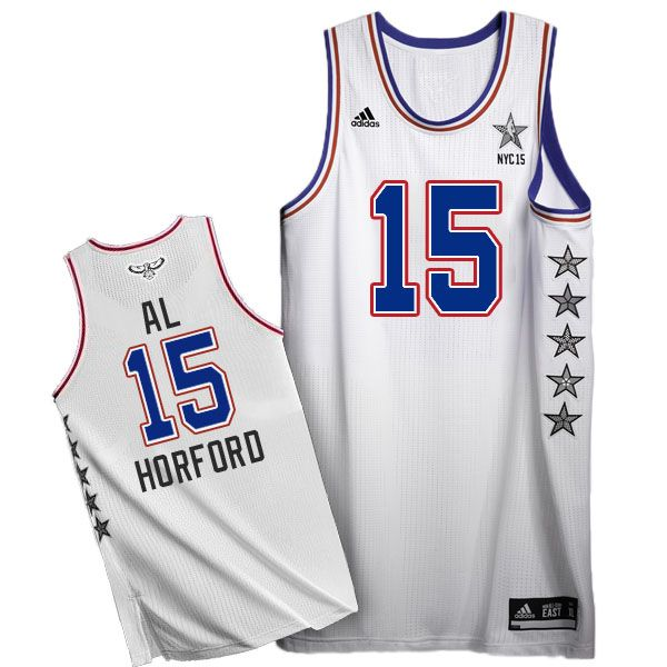 classic fit c6293 e0e1d 2015 NBA All-Star NYC Eastern Conference #15 Al Horford ...