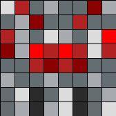 Minecraft Spider Perler Bead Pattern / Bead Sprite