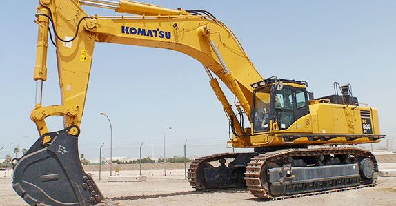 Komatsu ranks no. 2 in the 2014 Yellow Table ranking survey of top 5 construction equipment manufacturer