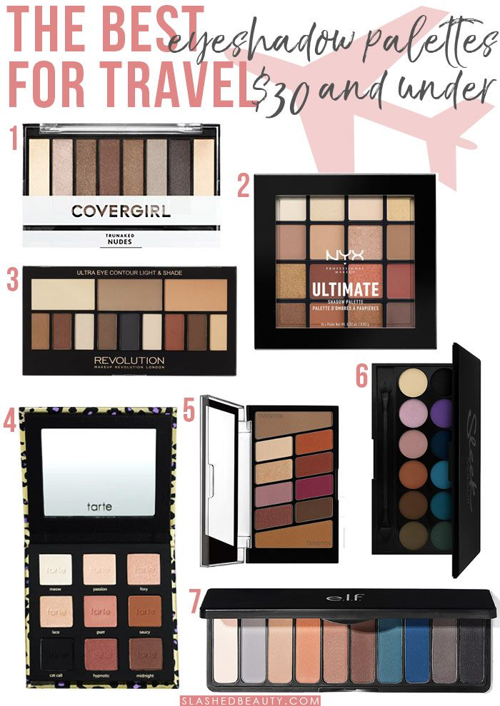 7 Best Eyeshadow Palettes For Travel 30 Under Best Eyeshadow Best Eyeshadow Palette Travel Eyeshadow