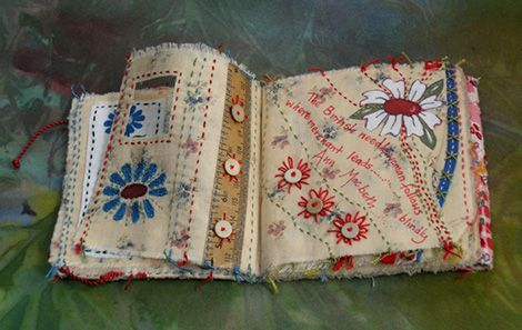 (via Frances Pickering - Textile Artist) More