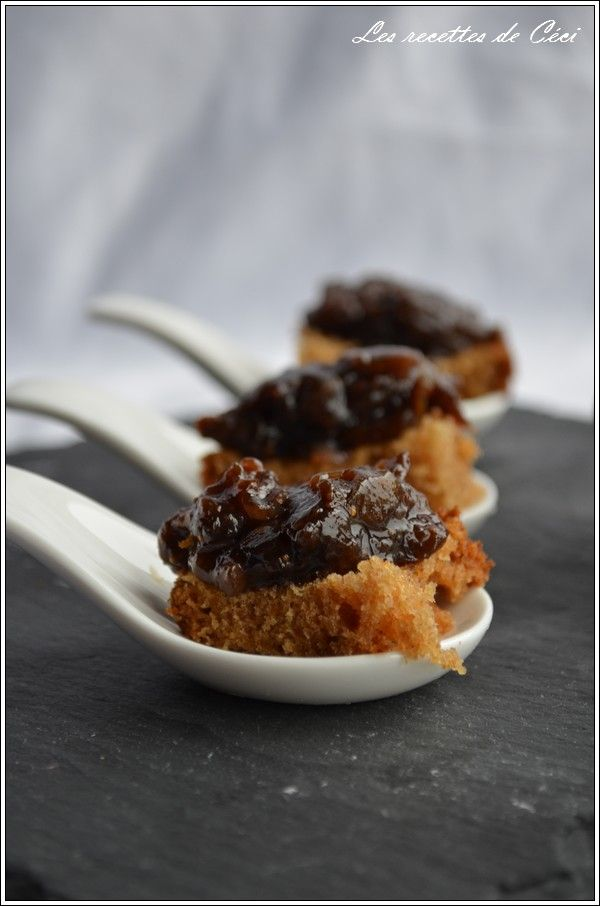Chutney de figues -    Les recettes de Céci