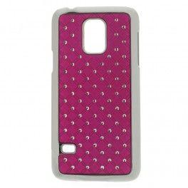 Galaxy S5 mini hot pink luksus kuoret