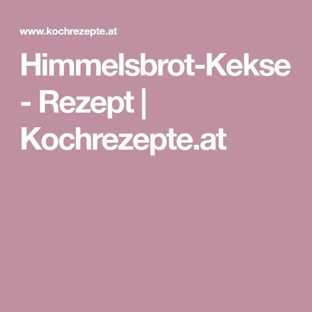 Himmelsbrot-Kekse - Rezept | Kochrezepte.at