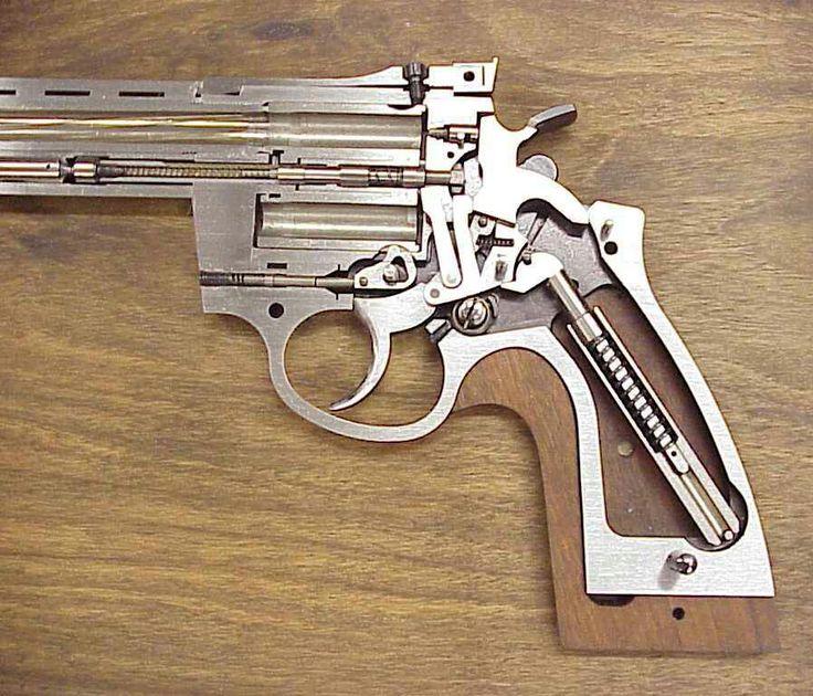 Revolver cutaway