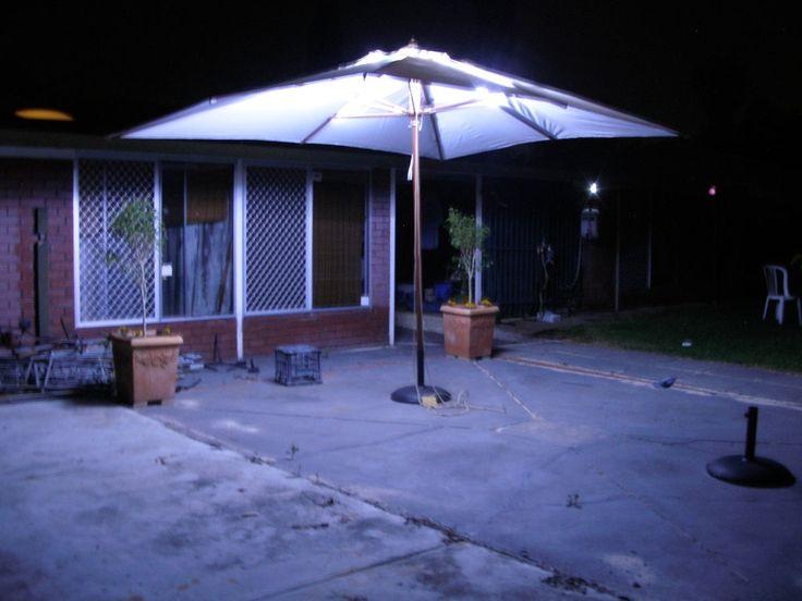 Led Lights For Patio Umbrella