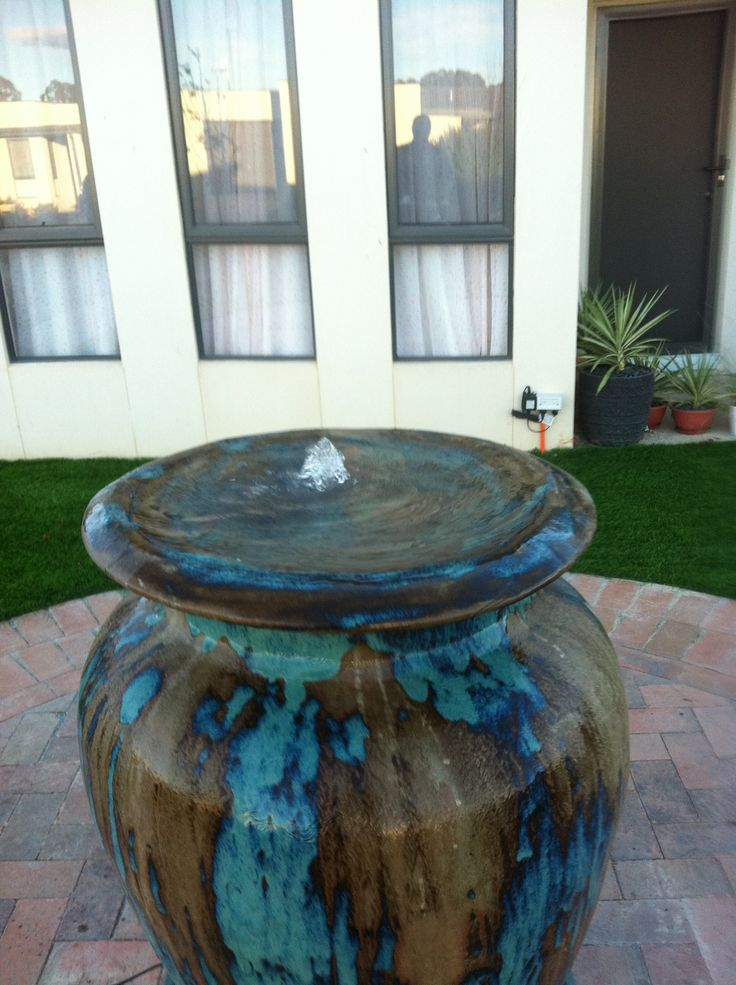 Paving and Landscaping Canberra Water Feature, Paved Circle and Turf