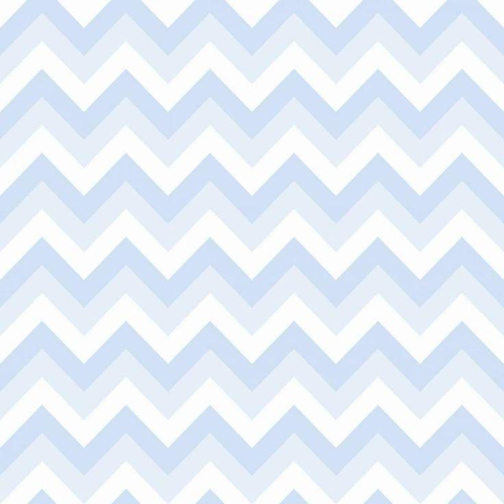Papel de parede Chevron Candy Azul 004