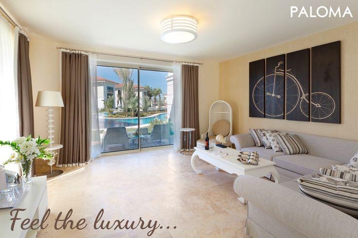 Feel the luxury... Size lüks ve konforu sunuyoruz... #Paloma #Oceana