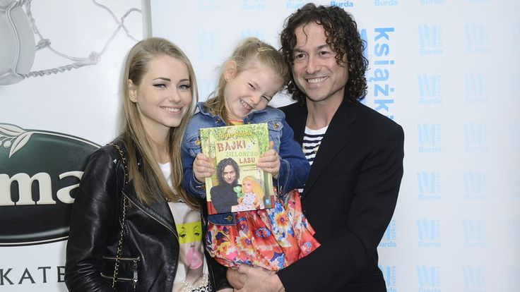Piotr Rubik z rodziną