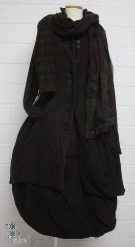 "www.modegalerie-bongardt.de - rundholz mode, rundholz black label, rundholz dip Rundholz black label Winter 2014 asym. wattierter Gehrock/Jacke ""double""...in 2 verschiedenen Farben ! 701201/W14"