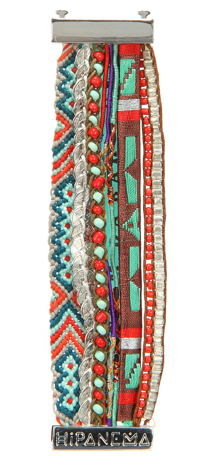 Brazilian bracelet HIPANEMA SALVADOR http://www.brazilianbikinishop.com/en/bracelet-hipanema-salvador-11149.html