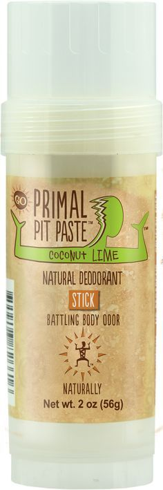 This is the best deodorant out there and it smells heavenly! Trust me I have tried almost every natural brand you can name & this is the ONLY product that stops me from smelling and sweating. Most natural deodorants only do one of those.