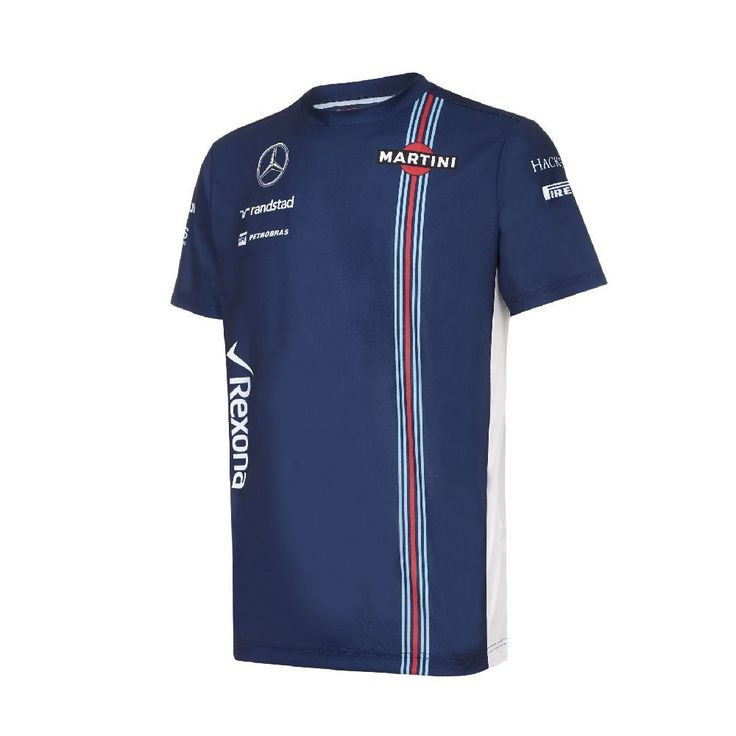 Williams #martini #racing f1 official mens team #t-shirt - 2016 - clearance price,  View more on the LINK: 	http://www.zeppy.io/product/gb/2/121974691265/