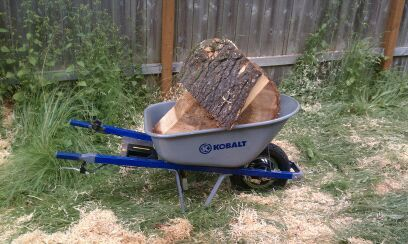 Electric Wheelbarrow by Evan Pickett -- Homemade electric wheelbarrow designed as a contest entry and capable of self-propulsion over rough ground and up steep grades. http://www.homemadetools.net/homemade-electric-wheelbarrow