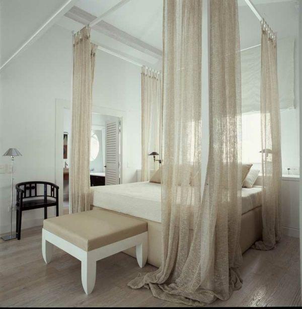 elegant bedroom design by stefano dorata - Eclectic Canopy 2015