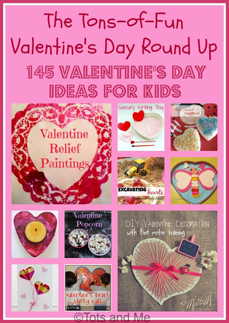 littles learning link up the tons of fun valentines day round up - Boy Valentine Ideas
