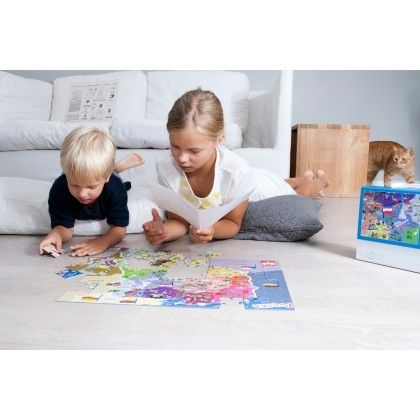 Puzzle na deszczowe dni jak znalazł! - Puzzle Polska dla Dzieci, Zuzu Toys - PomocnicyMamy.pl cena 65,01