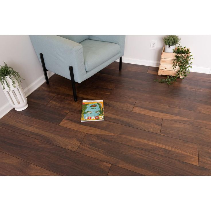 Home decorators collection redborn hickory 12mm thick x 8