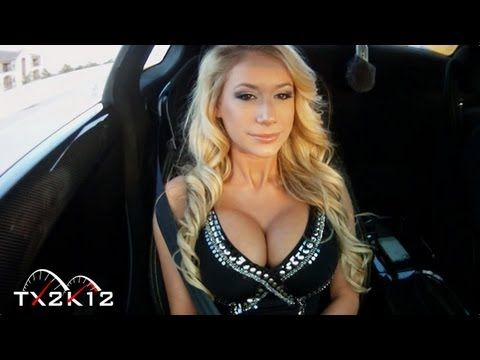 Sry not a truck but your welcome haha =-O Sexy Jenni in a 1250whp Underground Racing Lamborghini