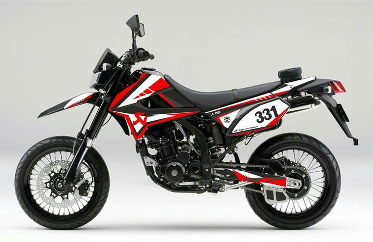 My decal design for klx / dtracker 250