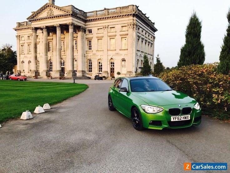 2013 bmw 116i M sport turbo Modified m4 java green #bmw #116 #forsale #unitedkingdom