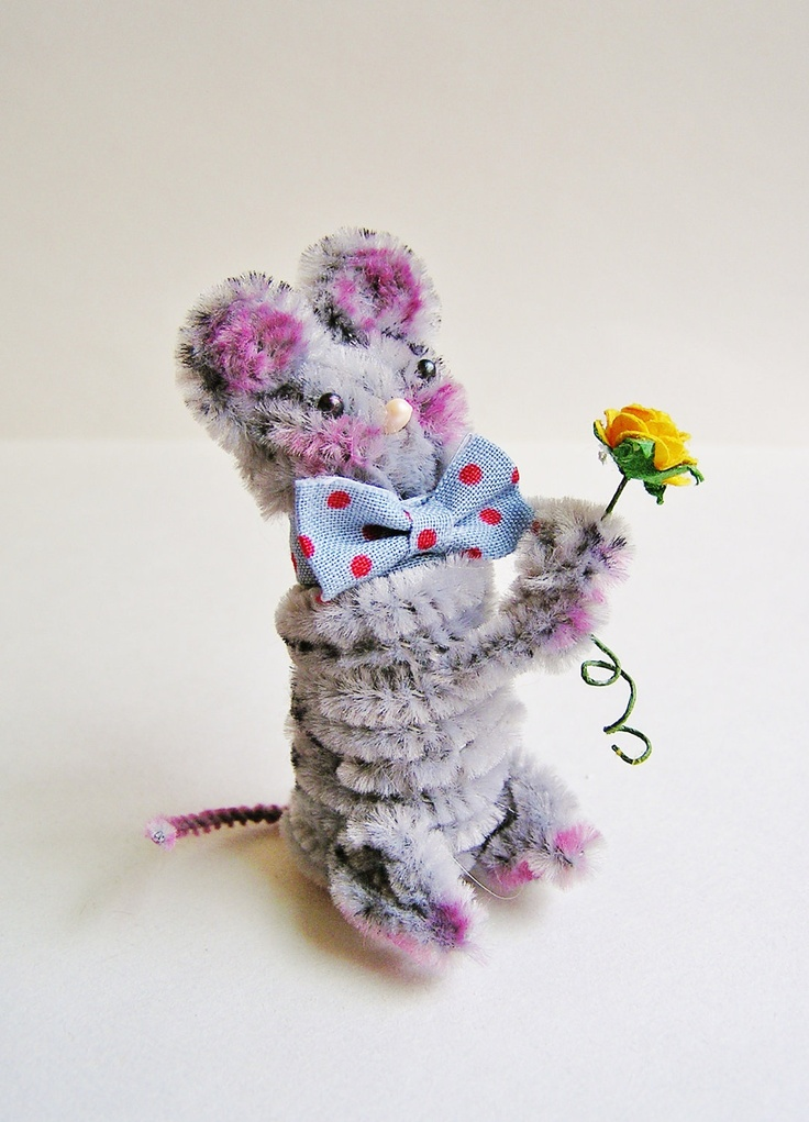 94 best craft chenille animals images on pinterest for Pipe craft