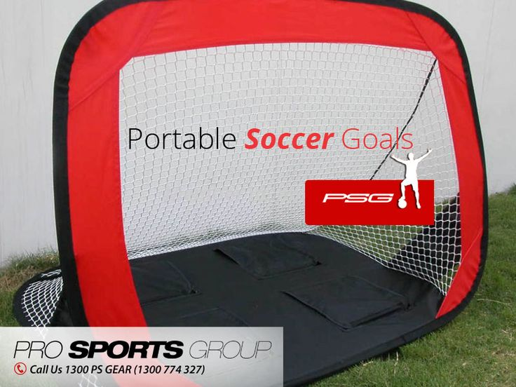 Train Hard with Portable Soccer Goals – Be the Match Winner - Portable Soccer Goals are specially designed for the upcoming players to test the accuracy, skill and vision. Pro Sports Group offers different shapes of Soccer Goals used in every international training field. Visit: http://prosportsgroup.com.au
