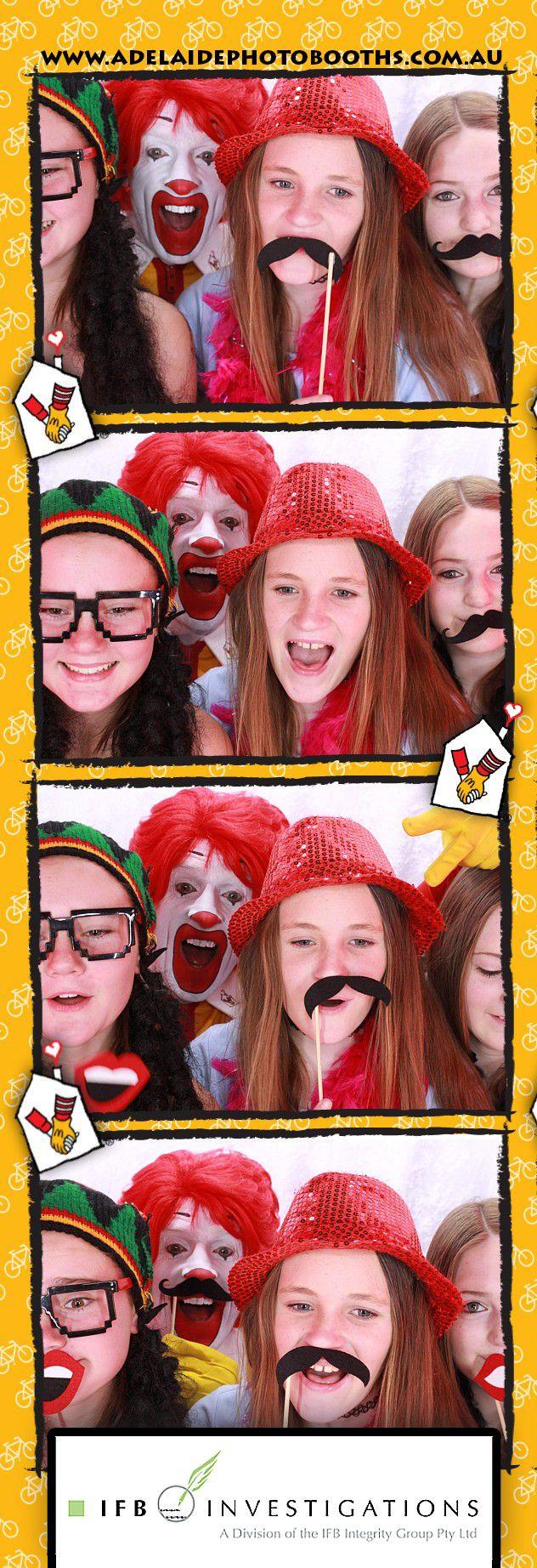 "Ronal Mcdonald House Charities ""ride for sick kids"" mildura #adelaide #photobooths #ronald #charitys #rmhc #fundraising"