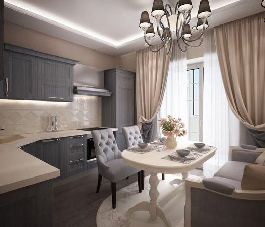кухня в стиле прованс с диваном - Поиск в Google