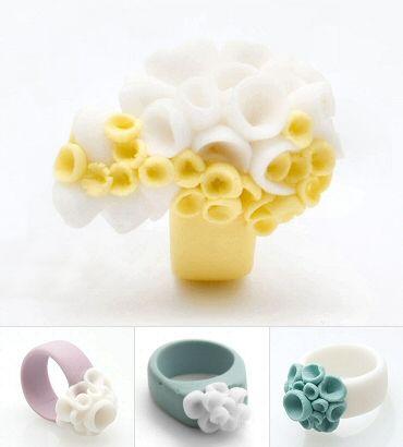 "porcelain pods in pastel by England's ""MaaP Studio"" (Polish- born Monika Skrzypkowska)."