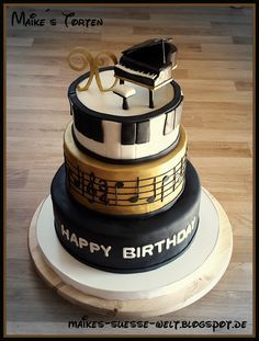 1000 ideas about music note cake on pinterest piano. Black Bedroom Furniture Sets. Home Design Ideas