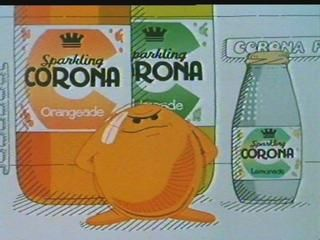 Corona pop, wish you could still get it, cherryade was the best, all delicious except dandelion and burdock which was awful! Icing on the cake was the local shop would give 10p for each empty bottle you returned :)
