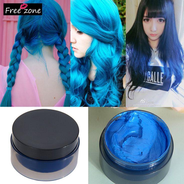Hot! 100 ml Damenmode Haar-werkzeug Modellierung Temporäre Haarfärbemittel Creme Wachs Schlamm-Beste qualität!! 100% gutes feedback