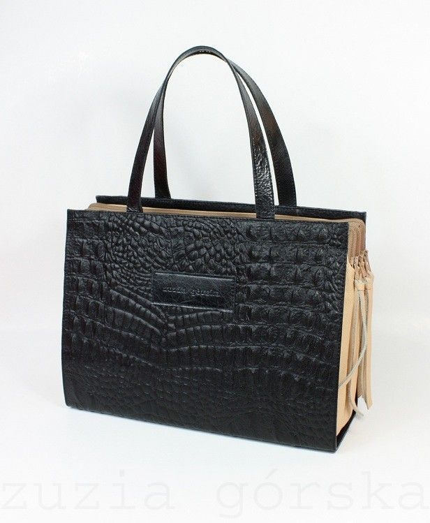 Triple-Inside-Bag-Forfiter-BlackNude from Zuzia Gorska