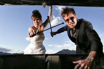 Jason and Jo are an awesome offbeat couple who also happen be the talented team behind our sponsor Imagine Photography. These two are based out of Arizona, but they've taken Las Vegas by stor…