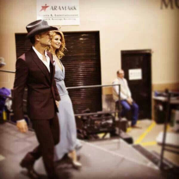 Tim McGraw and Faith Hill at ACM