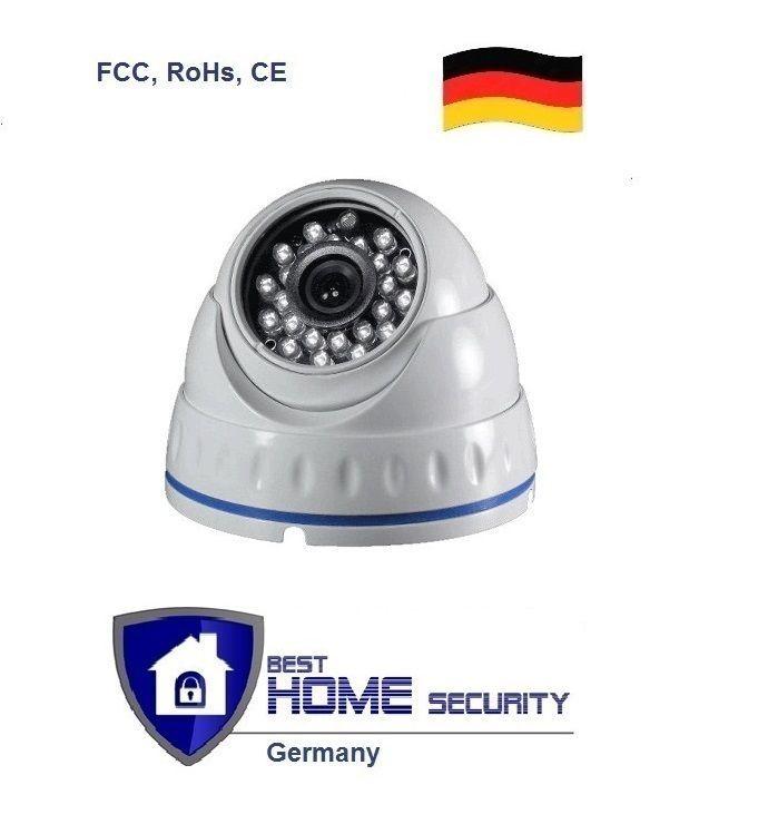 AHD IR Kamera 720p 1.0MP, IP66, Wasserdicht Nachtsicht Überwachungssystem