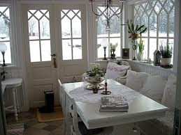 glasveranda - white, entry, scandinavian & cozy