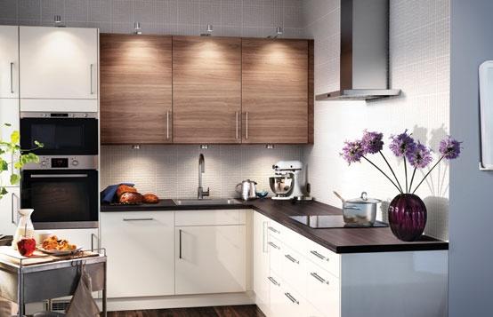 FAKTUM kitchen with ABSTRAKT/SOFIELUND doors