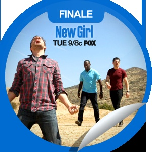 New Girl: See Ya...Wave goodbye to Season one of New Girl! Check-in to GetGlue.com for the finale sticker!: Girls Generation, Girls Seasons, Favorite Getglu, 9 8C Foxes, Girls Tue, Getglu Com, Finals Stickers, New Girls, Getglu Stickers