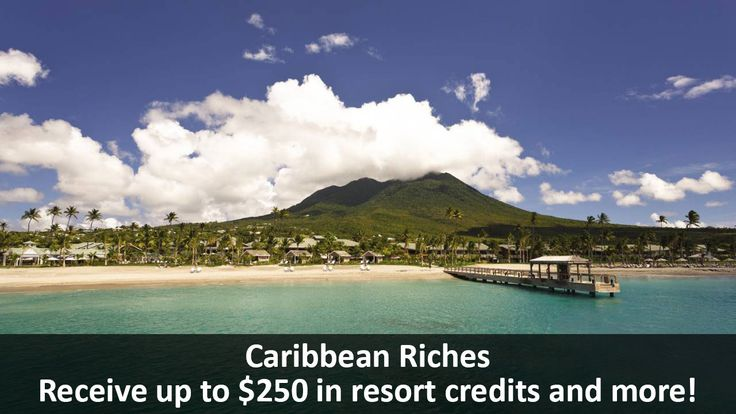 Caribbean Riches - https://traveloni.com/vacation-deals/caribbean-riches-2/ #caribbeanvacation #nevis #jamaica #stbarts #puertorico #resortcredits